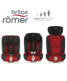 Britax UK Advansafix - Chili Pepper(9 mths - 12 yrs)