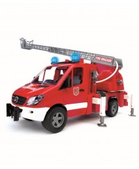 Bruder MB Sprinter Fire Engine W/Ladder,Waterpump and L&S