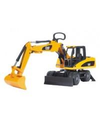 Bruder Cat Wheeled Excavator