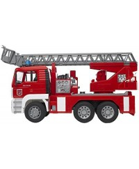 Bruder MAN TGA Fire Engine w/water Pump Light & Sound Module