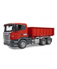 Bruder Scania R-series Truck w/ Roll-Off Container