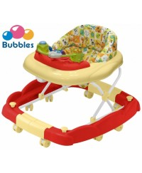 Bubbles 2 in 1 Baby Walker Cosmo Red