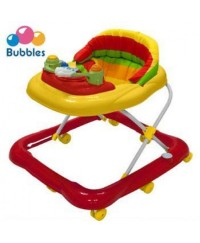 Bubbles Baby Walker Sunny Red