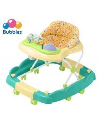 Bubbles 2 in 1 Baby Walker  Smiley Green