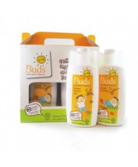 Buds For Kids Orange Gift Pack - Shampoo & Bath