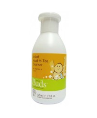 Buds Everyday Organics Infant Head to Toe Cleanser 225ml