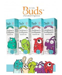 Buds Children's Toothpaste with Fluoride