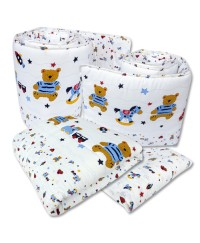 Bumble Bee  4ps Crib Set Bedding ( 6 design available)