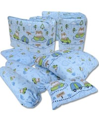 Bumble Bee 7pcs Crib Set Bedding ( 9 design available)