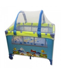 Bumble Bee Under The Sea Bassinet Playpen ( Free Mattress)