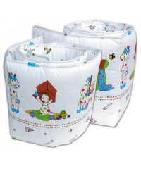 Bumble Bee 2pc Cot Bumper (8 Design)