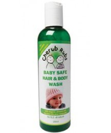 Cherub Rubs Baby Safe Hair & Body Wash 250ml