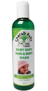 Cherub Rubs Baby Safe Hair & Body Wash 250ml