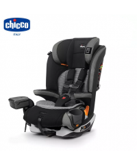 Chicco Myfit Zip Harness Booster Car Seat-Grey