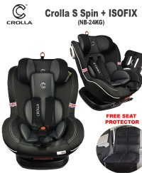 Crolla S+ SPIN 360  ISOFIX Car Seat (0-7 years old)