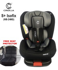 Crolla S+ Isofix Car Seat (0-7 years old)