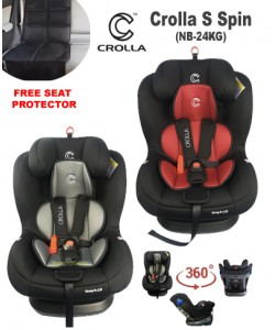 Crolla S+ SPIN 360 Car Seat (0-7 years old)