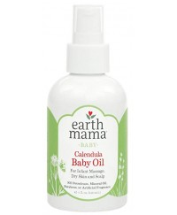 Earthmama Baby Calendula Oil 120ml