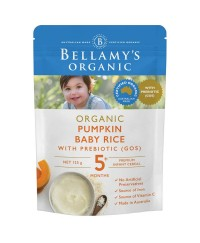 Bellamy's Organic Pumpkin Baby Rice