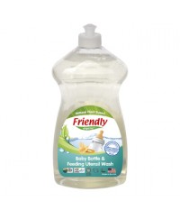 Friendly Organic Baby Bottle & Feeding Utensil Wash 739 ml (Hand Wash)