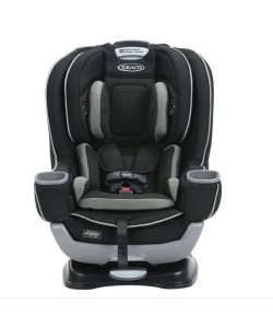 Graco USA Extend2Fit Convertible Car Seat With RapidRemove Cover In Clive