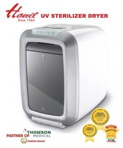 Hanil UV Sterilizer from Korea ( Premium Grade )  + Free Hegen Basic Starter Kit
