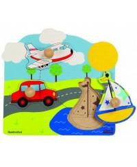 Hape Bon Voyage Puzzle