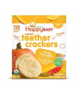 Happy Baby Organic Teether Crackers - Mango&Pumpkin