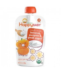 Happy Baby Greek Yogurt Pumpkin Banana