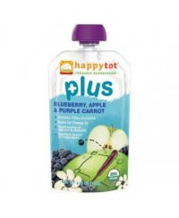 Happy Baby Tot Plus Blueberry, Purple Carrot & Apple