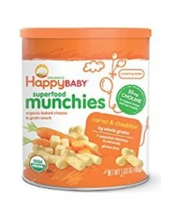 Happy Baby Munchies Carrot & Cheddar