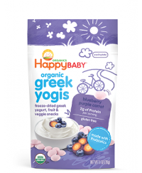 Happy Baby Yogis Blueberry & Purple Carrot