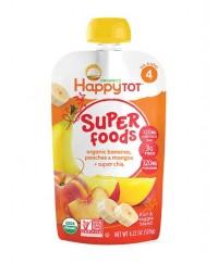 Happy Baby Stage 4 Banana, Peach & Mango