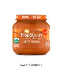 Happy Baby Clearly Crafted Jar S1 - Sweet Potatoes