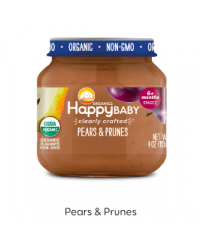 Happy Baby Clearly Crafted Jar S2 - Pears & Prunes