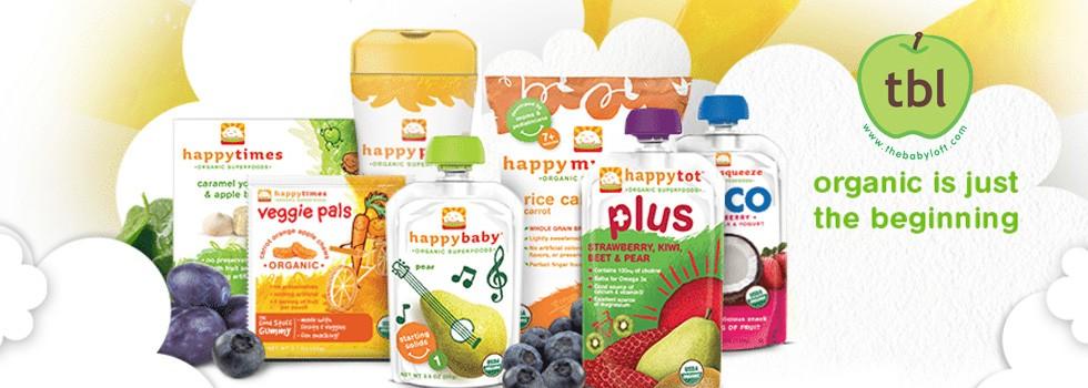 Happy Baby Organic Food