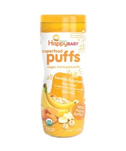 Happy Baby Puffs Banana & Pumpkin