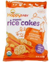 Happy Baby Munchies Carrot Rice Cake