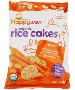 Happy Baby Munchies Carrot Rice Cake Malaysia The Baby Loft