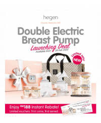 HEGEN PCTO Double Electric Breast Pump DELUXE BUNDLE  [MOTHER'S DAY SPECIAL]