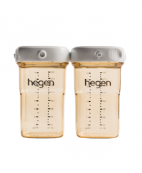 HEGEN PCTO™ 240ML/8OZ BREAST MILK STORAGE PPSU ( 2-PACK)