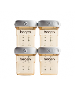 HEGEN PCTO™ 150ML/5OZ BREAST MILK STORAGE PPSU ( 4-PACK)