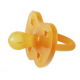 Hevea Rubber Pacifier Crown Round Design ( 3-36 months) - BEST BUY !!