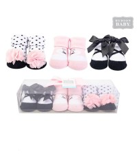 Hudson Baby Socks Gift Set (3pcs)