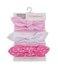Hudson Baby Headband (3pcs)
