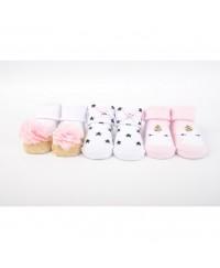 Hudson Baby Socks Gift Set Gold Unicorn(3pcs)