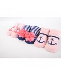 Hudson Baby Socks Gift Set Novelty (3pcs)