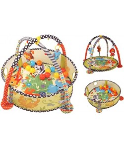 Infantino Grow With Me Activity Gym and Ball Pit, 20 balls