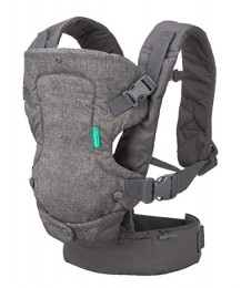 Infantino Flip Advanced 4-in-1 Convertible Baby Carrier - Grey