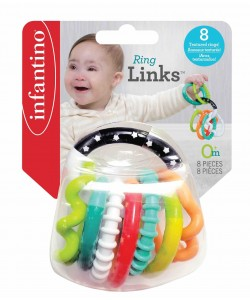 Infantino Ring A Links Teether Set